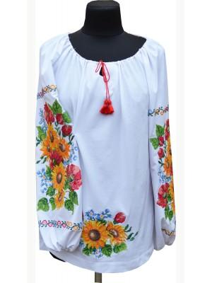 вышиванка женская Соняшникове літо