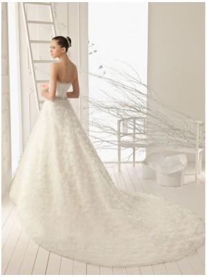 Свадебное платье под заказ ( застежка на молнии или со шнуровкой )