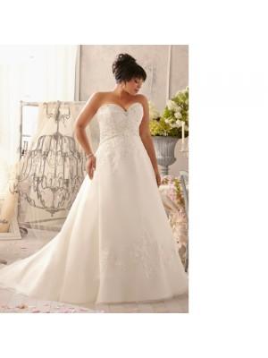 Свадебное платье на полную фигуру под заказ