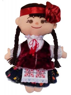 Кукла-Украинка тряпочная в народном стиле
