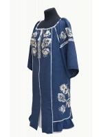 платье для полных с вышивкой ВІЗЕРУНКИ