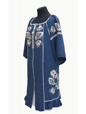купить платье для полных с вышивкой ВІЗЕРУНКИ