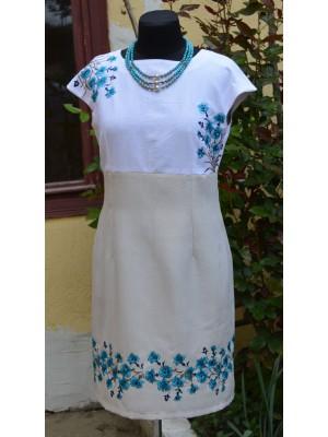 платье с вышивкой ′Волошкове поле′